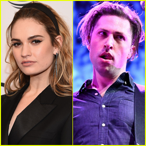 Lily James & New Boyfriend Michael Shuman Spotted Holding Hands in L.A.
