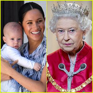 Source Reveals When Meghan Markle & Archie Last Spoke to Queen Elizabeth