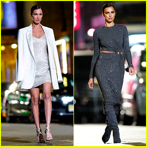 Michael Kors Shuts Down NYC Street for Fashion Show with Bella Hadid, Irina Shayk, & More!