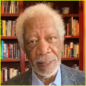 Morgan Freeman Stars in a New COVID-19 Vaccine PSA - Watch Here!