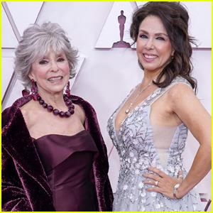 Rita Moreno & Fernanda Luisa Gordon Have a Cute Mother-Daughter Red Carpet Moment at Oscars 2021
