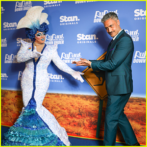 Taika Waititi Hits 'RuPaul's Drag Race Down Under' Premiere After HBO Max Pirate Series Announcement