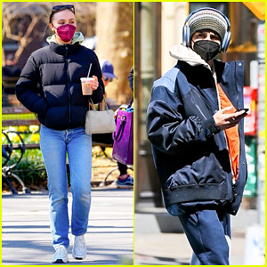 Timothee Chalamet & Lily-Rose Depp Both Spotted in New York Amid Speculation They're Back Together