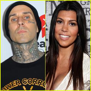 Travis Barker Joins Girlfriend Kourtney Kardashian & Family for Easter