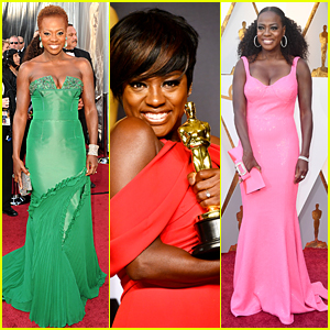 Viola Davis' Oscars History - See Every Red Carpet Dress She's Worn to the Show!