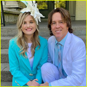 Anna Nicole Smith's Daughter Dannielynn, 14, Looks So Grown Up at Kentucky Derby 2021 with Dad Larry Birkhead!