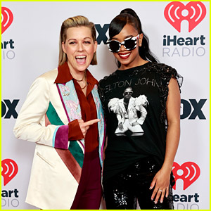 H.E.R. & Brandi Carlile Walk Red Carpet Together Before Performing at iHeartRadio Music Awards 2021