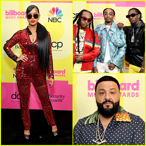 H.E.R. Hits The Red Carpet With DJ Khaled & Migos Ahead of Their BBMAs Performance!