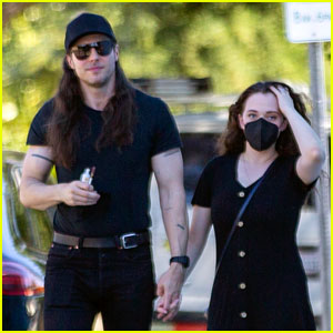 Kat Dennings Spotted Shopping with Fiance Andrew WK at Vintage Clothing Store