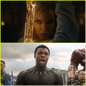 Marvel Announces 'Black Panther 2' Title, Reveals First Look at Angelina Jolie & Others in 'Eternals' & So Much More!