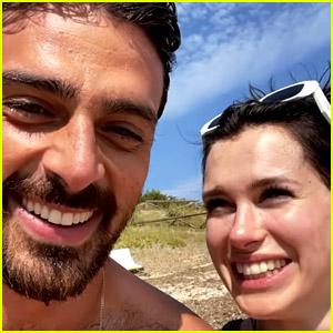 365 Days' Michele Morrone Celebrates Co-Star Anna-Maria Sieklucka's Birthday on the Beach!