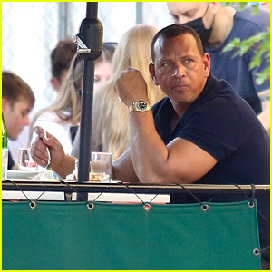 Alex Rodriguez Spotted Eating Solo at New York City Restaurant
