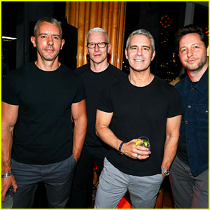 Anderson Cooper & Andy Cohen Have a Dads Night Out at Pride Event in NYC!