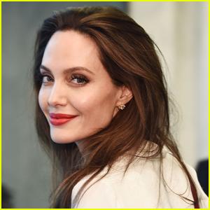 Angelina Jolie Reveals a Meaningful New Tattoo in Italian