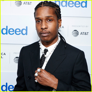 A$AP Rocky Looks So Suave at Premiere of His Documentary 'Stockholm Syndrome' at Tribeca 2021