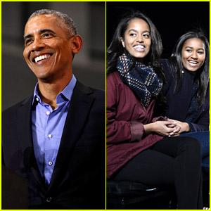 Barack Obama Opens Up About Daughters Malia & Sasha Obama's Activism