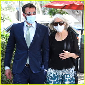Ben Affleck Goes to Lunch with His Mom After Daughter Seraphina's Graduation