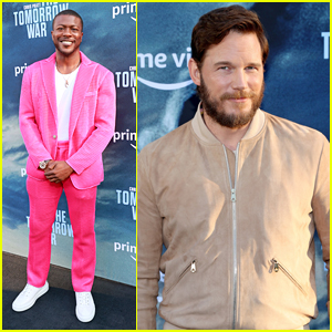 Chris Pratt, Edwin Hodge & More Stars Step Out For 'The Tomorrow War' Premiere