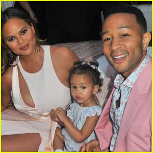 Chrissy Teigen Celebrates Father's Day With John Legend & Their Kids
