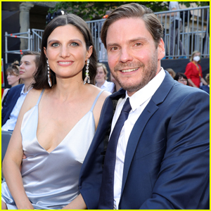 Daniel Bruhl Makes Rare Appearance with Wife Felicitas Rombold at Premiere of His New Movie 'Next Day'