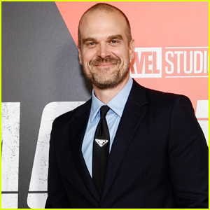 David Harbour Attends the New York City Premiere of 'Black Widow'