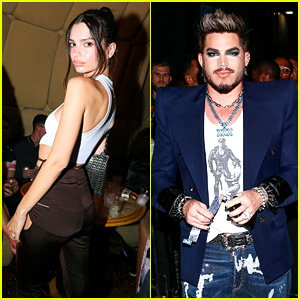 Emily Ratajkowski & Adam Lambert Join Tons of Stars for NYC Pride Weekend Kick-Off Party!