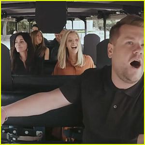 'Friends' Cast Does Carpool Karaoke with James Corden - Watch Now!