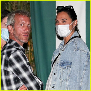 Pregnant Gal Gadot Enjoys Night Out with Husband Yaron Varsano, Reveals She's Still Working Out