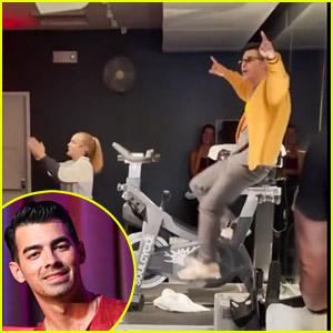 Joe Jonas Crashes & Takes Over Jonas Brothers Themed SoulCycle Class in Atlanta