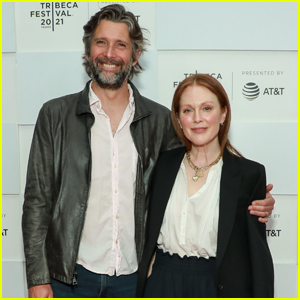 Julianne Moore Supports Hubby Bart Freundlich at 'With/In Vol. 1' Premiere at Tribeca 2021