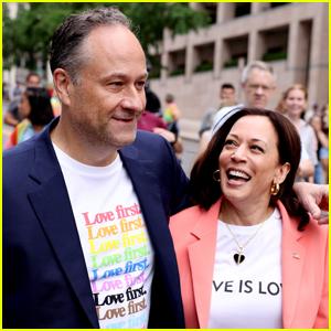 Vice President Kamala Harris Makes History Attending Pride Parade in Washington, D.C.