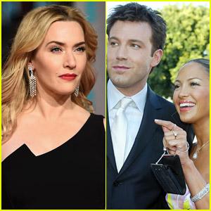 Kate Winslet Has Funny Response to Random Question About Jennifer Lopez & Ben Affleck