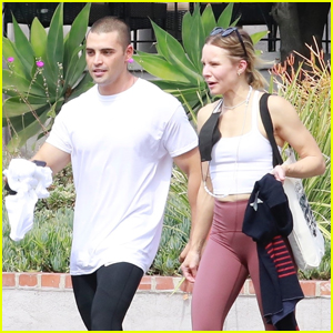 Kristen Bell Works Up a Sweat with 'Woman In The House' Co-Star Benjamin Levy Aguilar!