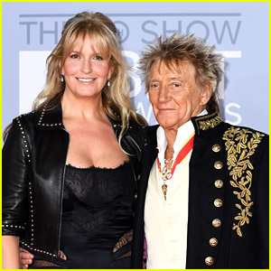 Rod Stewart's Wife Penny Lancaster Has A Brand New Job As A London Cop!