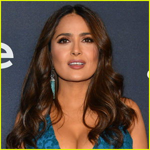 Salma Hayek Says Her Breasts Got Bigger During Menopause & Gave Her Back Issues