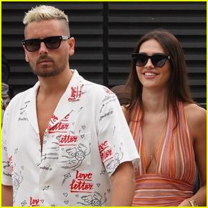 Scott Disick & Girlfriend Amelia Hamlin Enjoy Lunch Date in Malibu