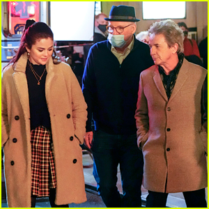 Selena Gomez Says 'Only Murders In The Building' Co-Stars Martin Short & Steve Martin Are Just 'Brilliant'
