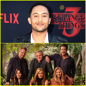 Tahj Mowry Dishes On The 'Huge' Crush He Had on Courteney Cox During His 'Friends' Episode