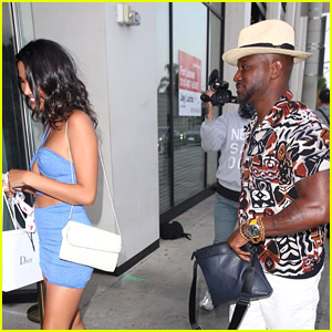 Taye Diggs Spotted on Dinner Date with CJ Franco