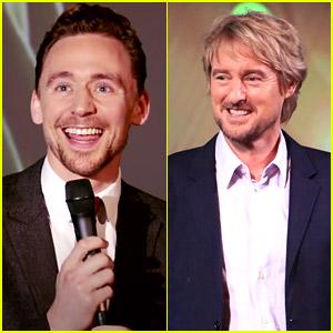 Tom Hiddleston Does His Best Owen Wilson Impression While Promoting 'Loki'