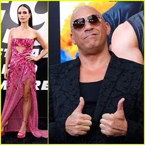 Vin Diesel & Jordana Brewster Lead 'F9' Cast To World Premiere in LA