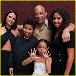 Vin Diesel's Three Kids Join Him to Surprise 'Fast & Furious' Fans at 'F9' Screening!