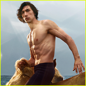 Adam Driver's Shirtless 'Burberry' Campaign Images Are Going Viral & Must Be Seen!