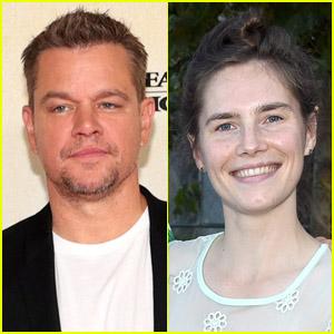 Amanda Knox Reacts to Similarities Between Her Life Story & Matt Damon's New Film 'Stillwater'