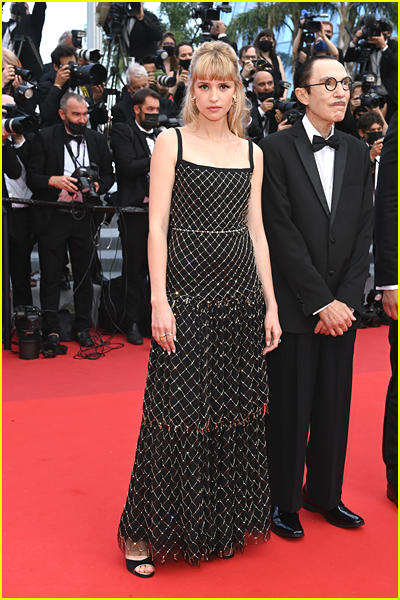 Angele at 2021 Cannes Film Festival