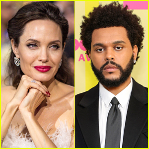 The Weeknd & Angelina Jolie Photographed at Same Concert After Last Month's Dinner Date!
