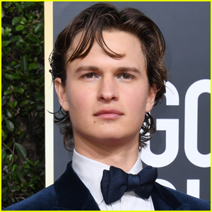 Ansel Elgort is Showing Off