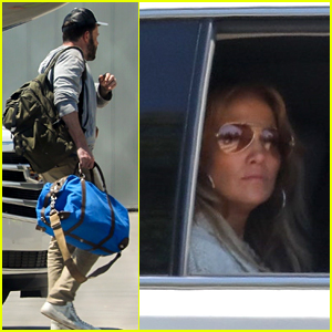 Ben Affleck & Jennifer Lopez Spotted Back in L.A. After Trip to the Hamptons