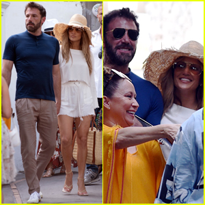 Ben Affleck & Jennifer Lopez Continue Their European Vacation in Italy!