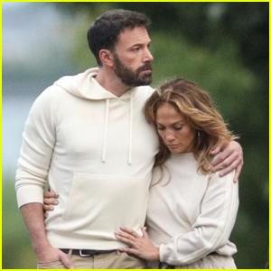 Ben Affleck & Jennifer Lopez Wrap Their Arms Around Each Other During Evening Stroll!